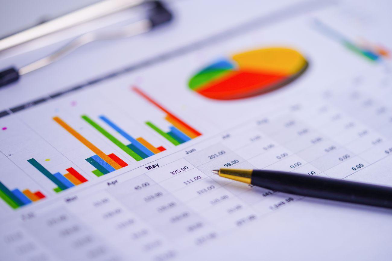 Money Market Chart and Pen