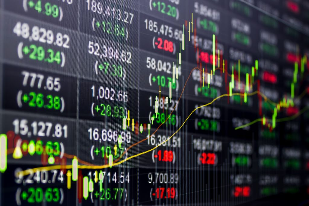 Stock Market Chart & Numbers