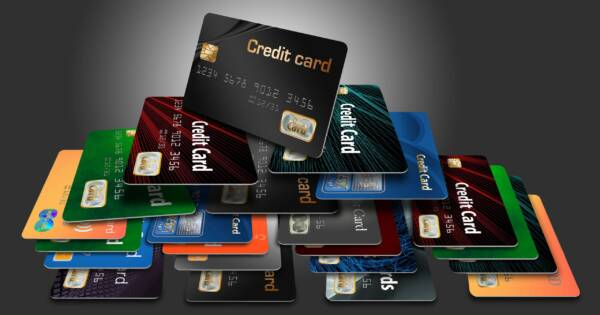 Credit Cards Stacked