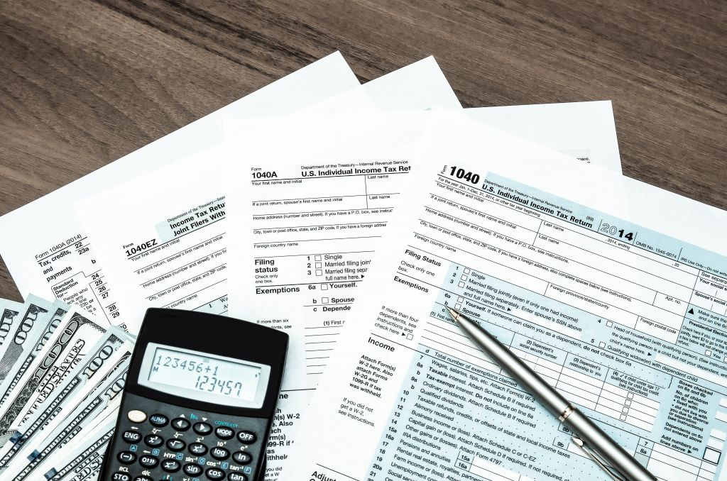 IRS Tax Forms & Calculator