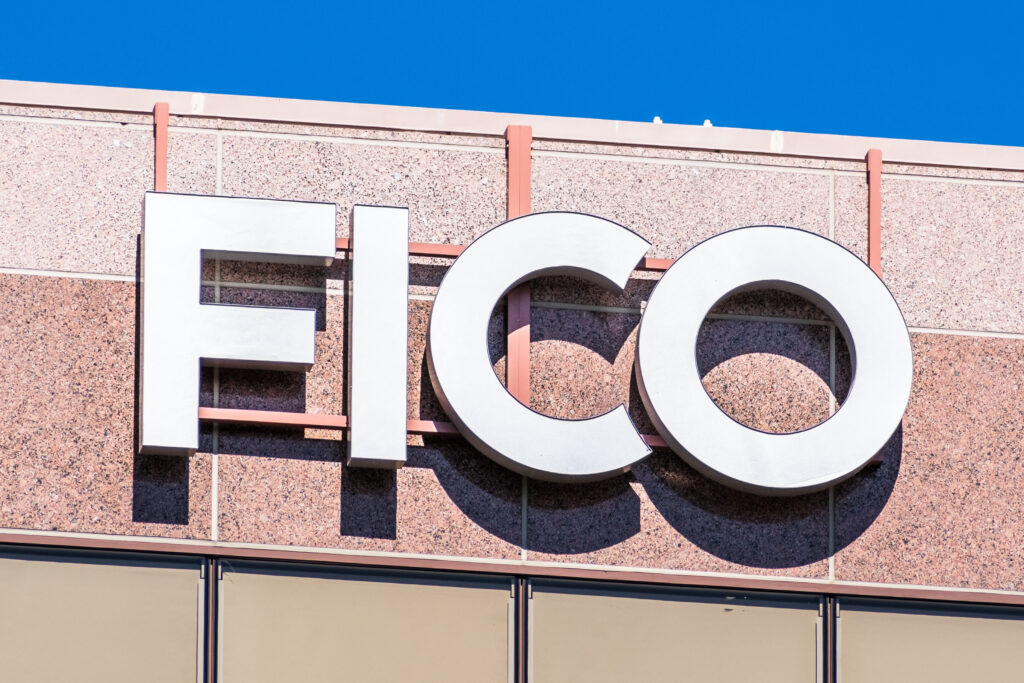 FICO Sign on Building