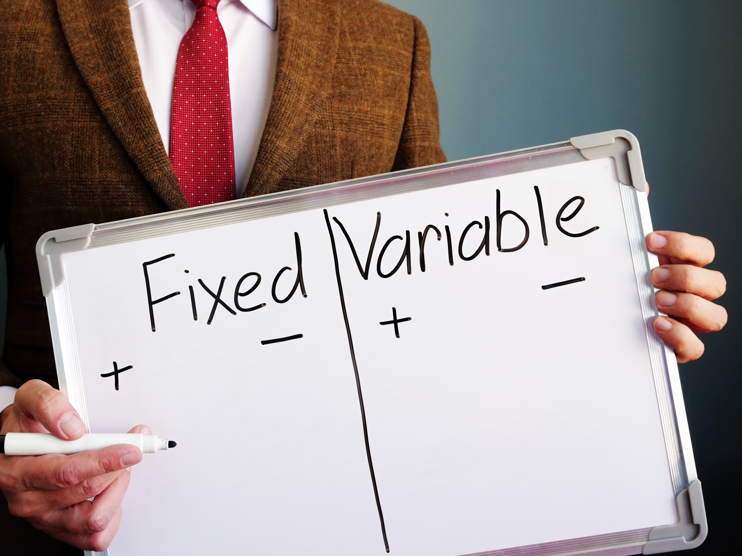 Fixed vs. Variable Whiteboard