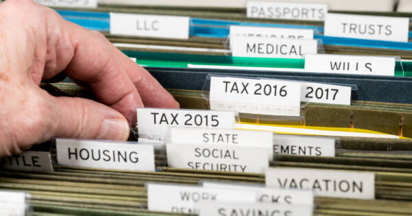 How Long Should You Keep Tax Returns (and Other Documents)?