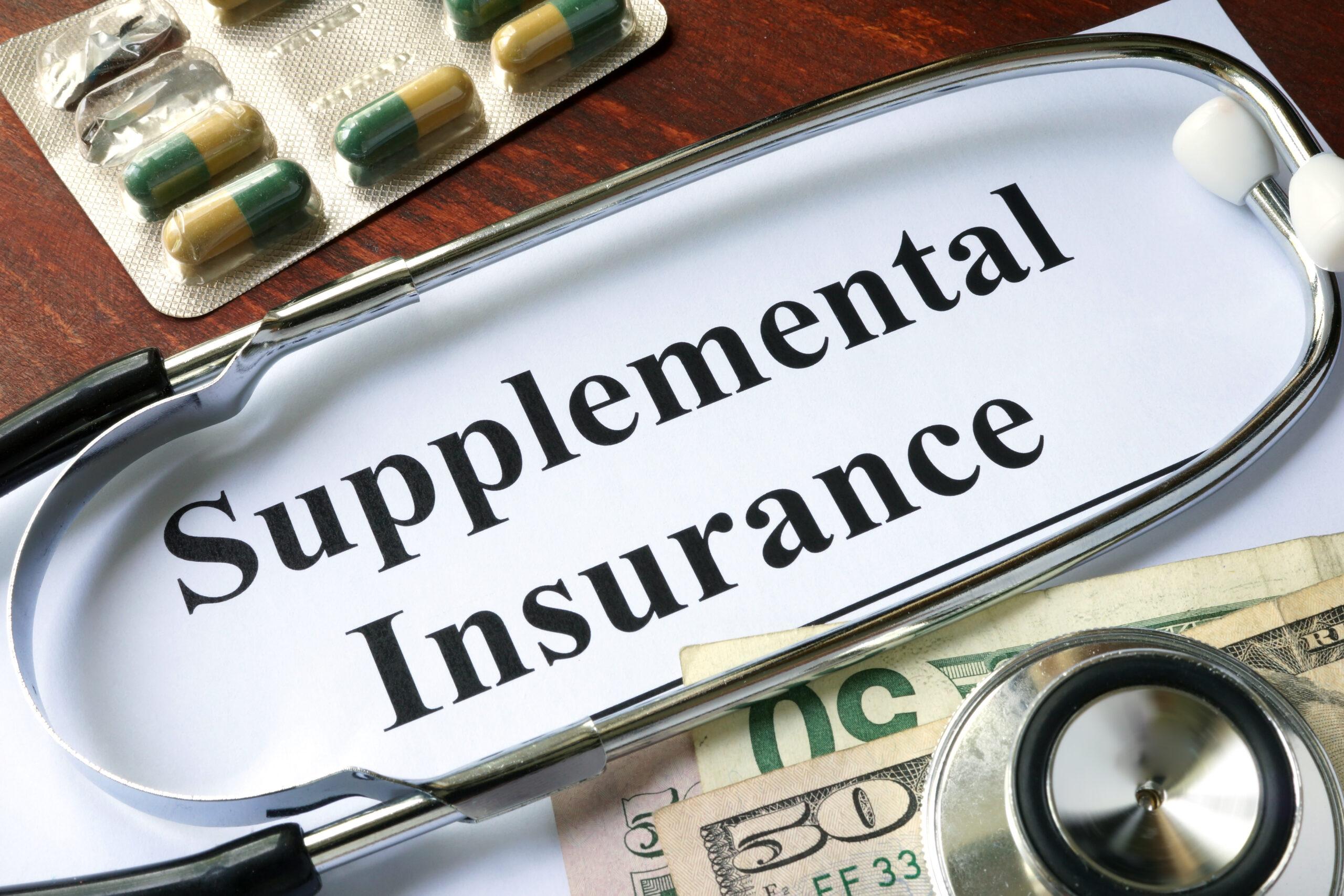 Supplemental life insurance documents