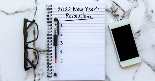 Resolutions for 2022