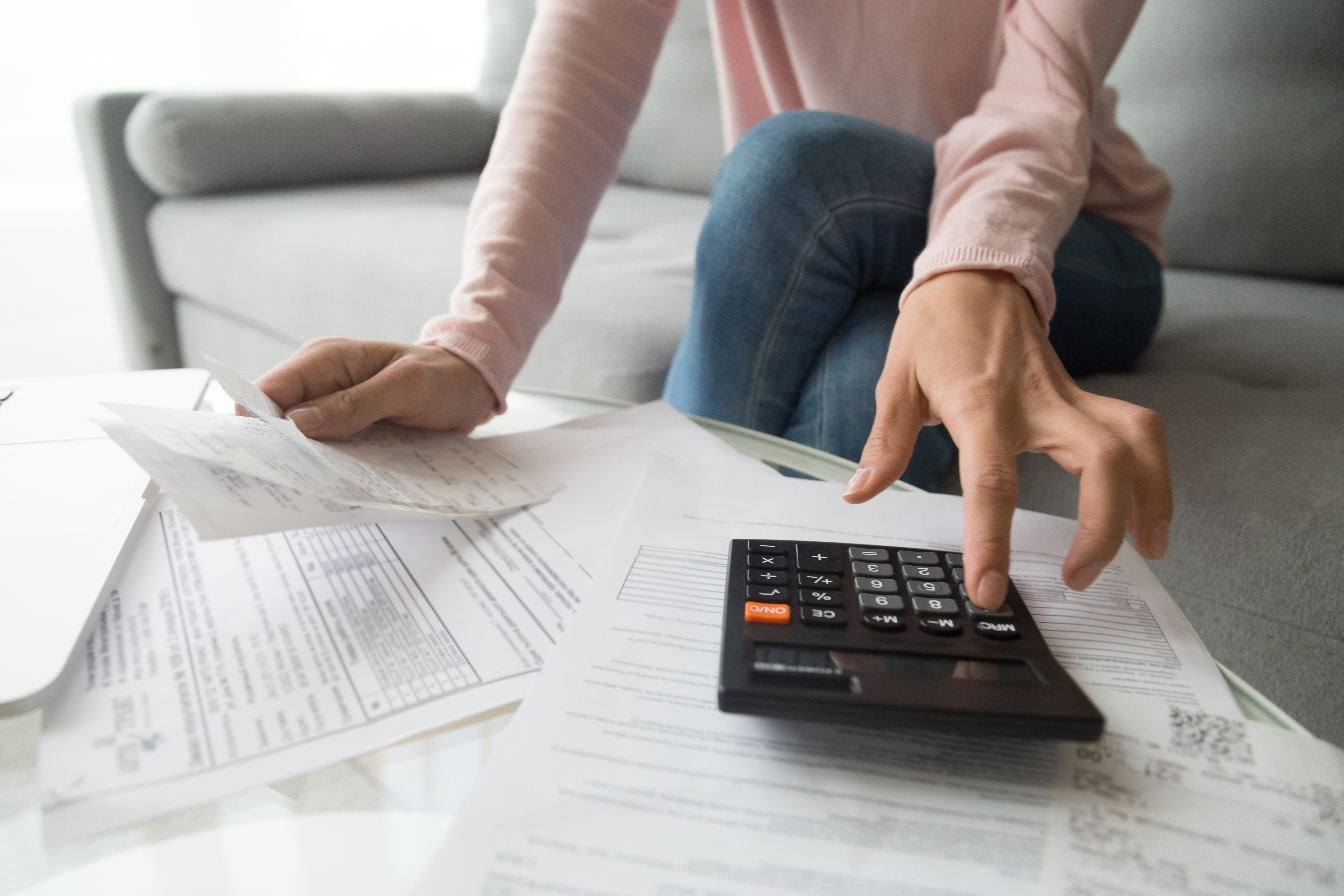 budgeting and tax forms