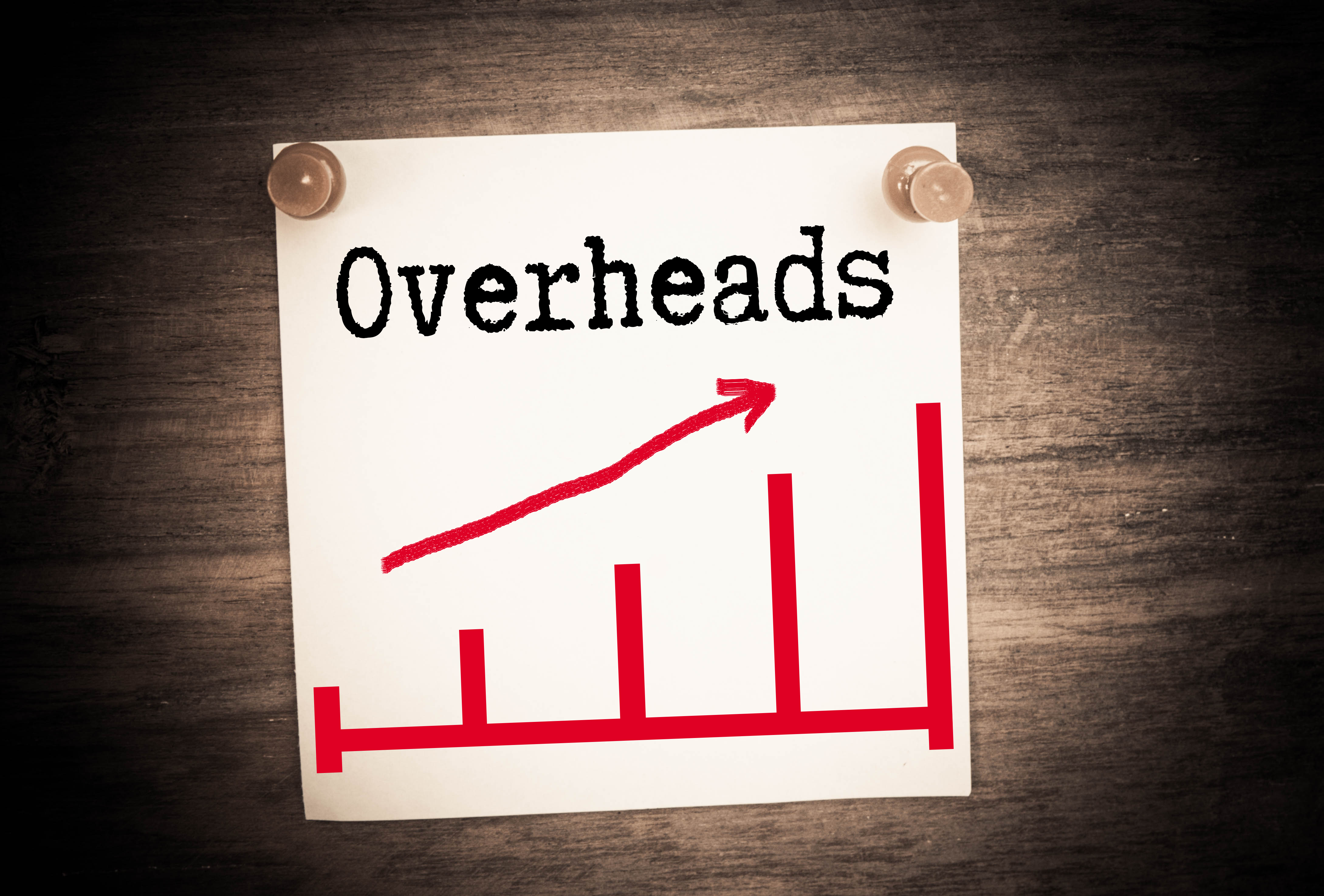 rising overhead costs