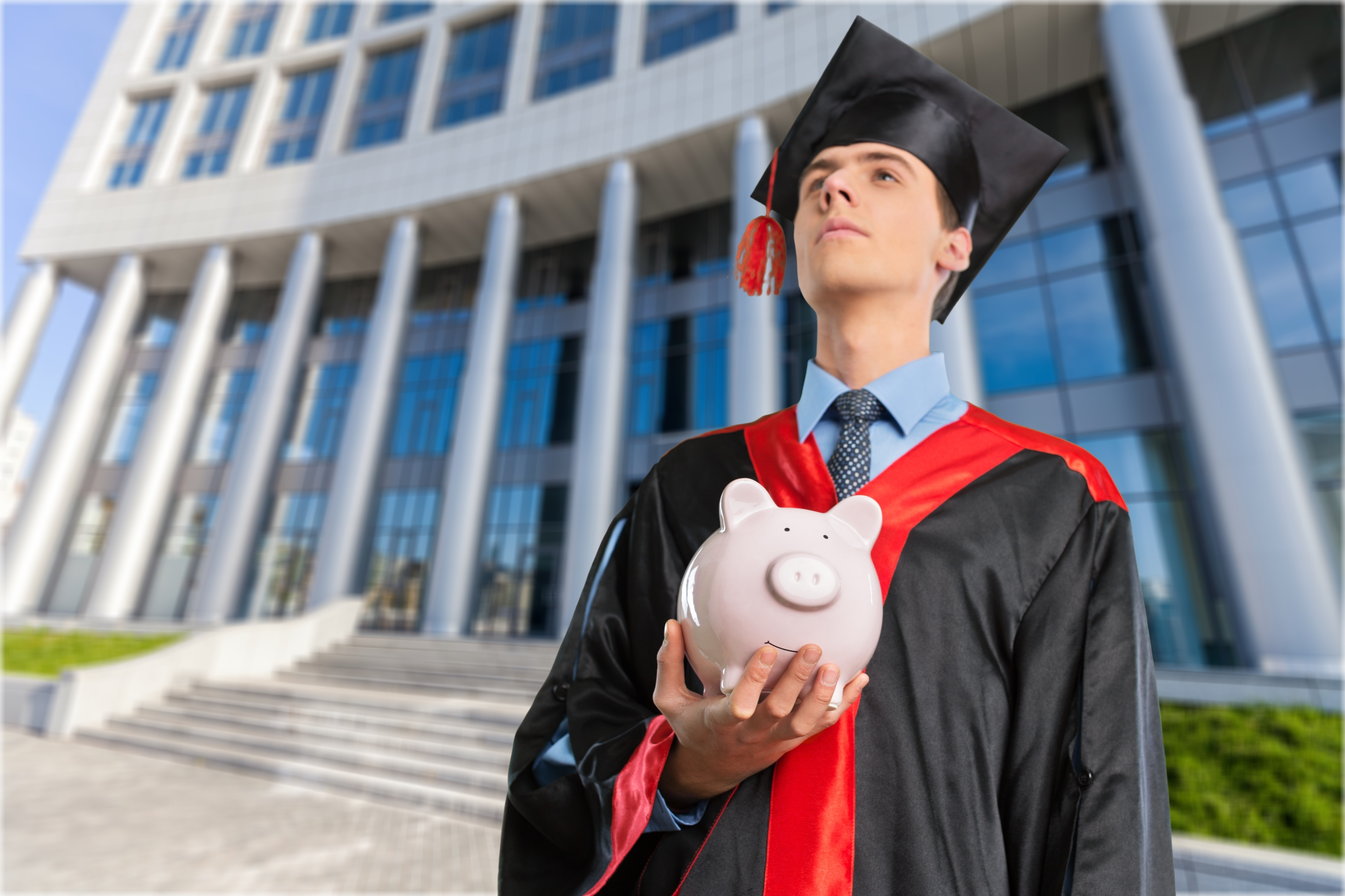graduating student with perkins loans