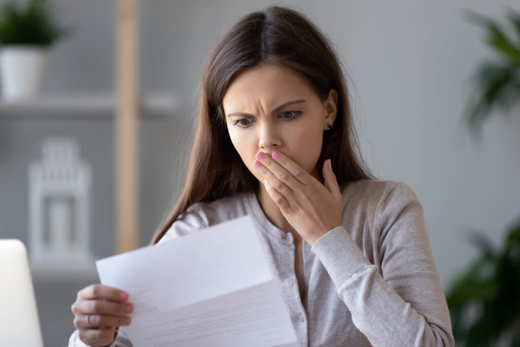 Woman Shocked by IRS Letter