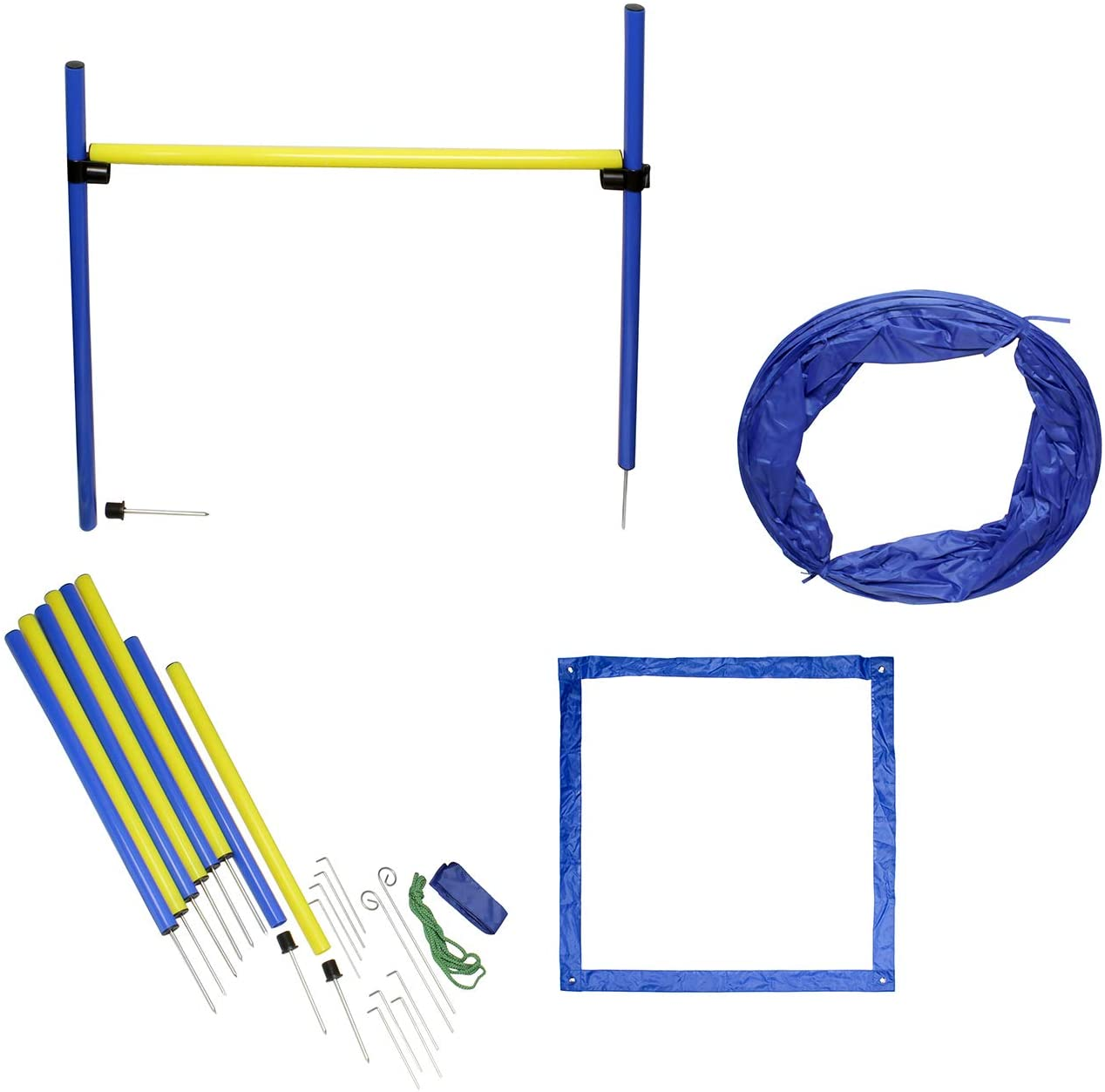 MiMu Dog Agility Training Equipment Kit
