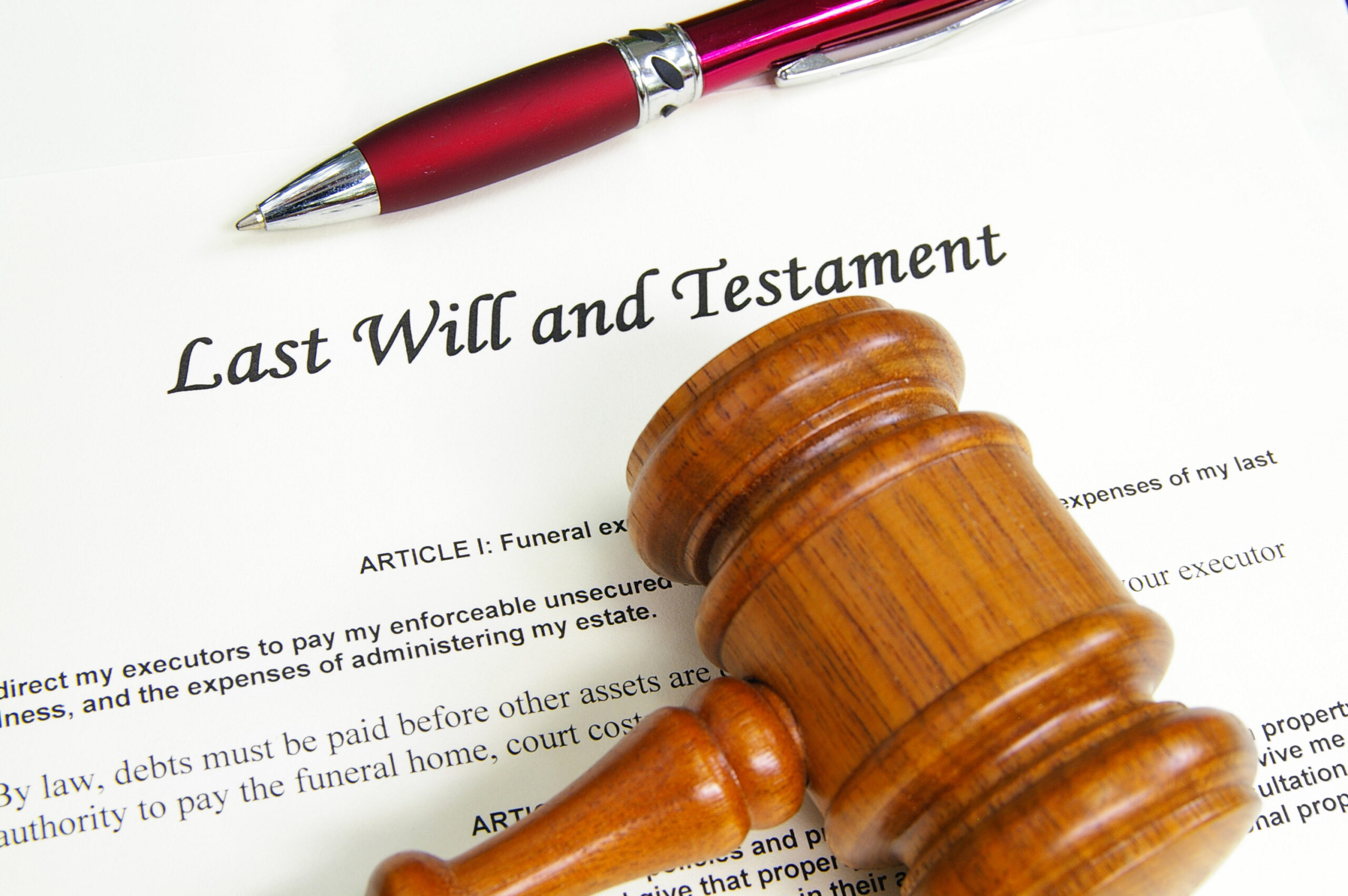 Last will and testament probate court