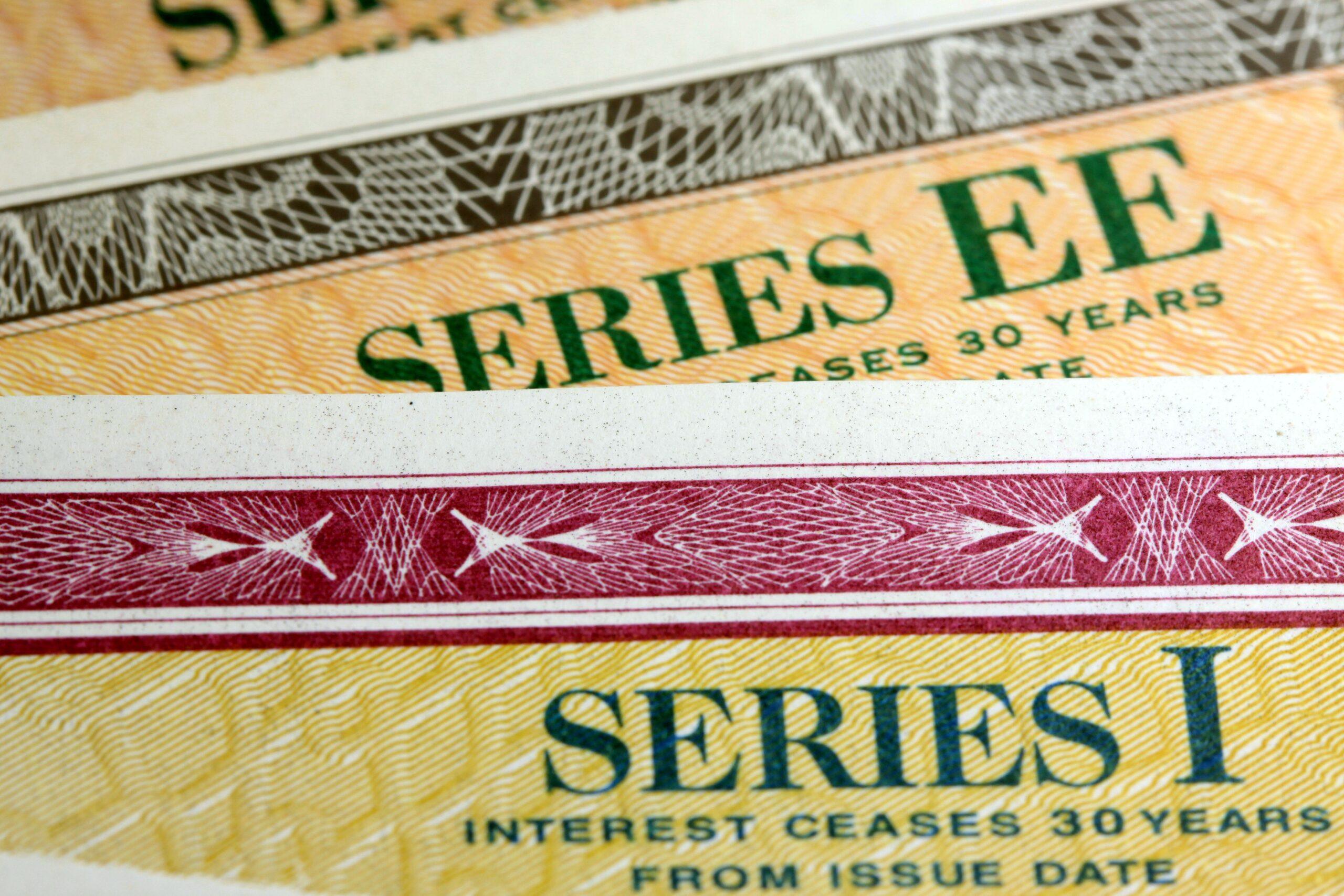 Cash in savings bonds